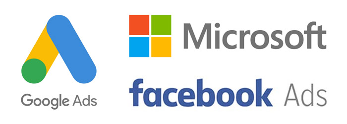 Google Ads, Microsoft and Facebook Ads Combination Photo