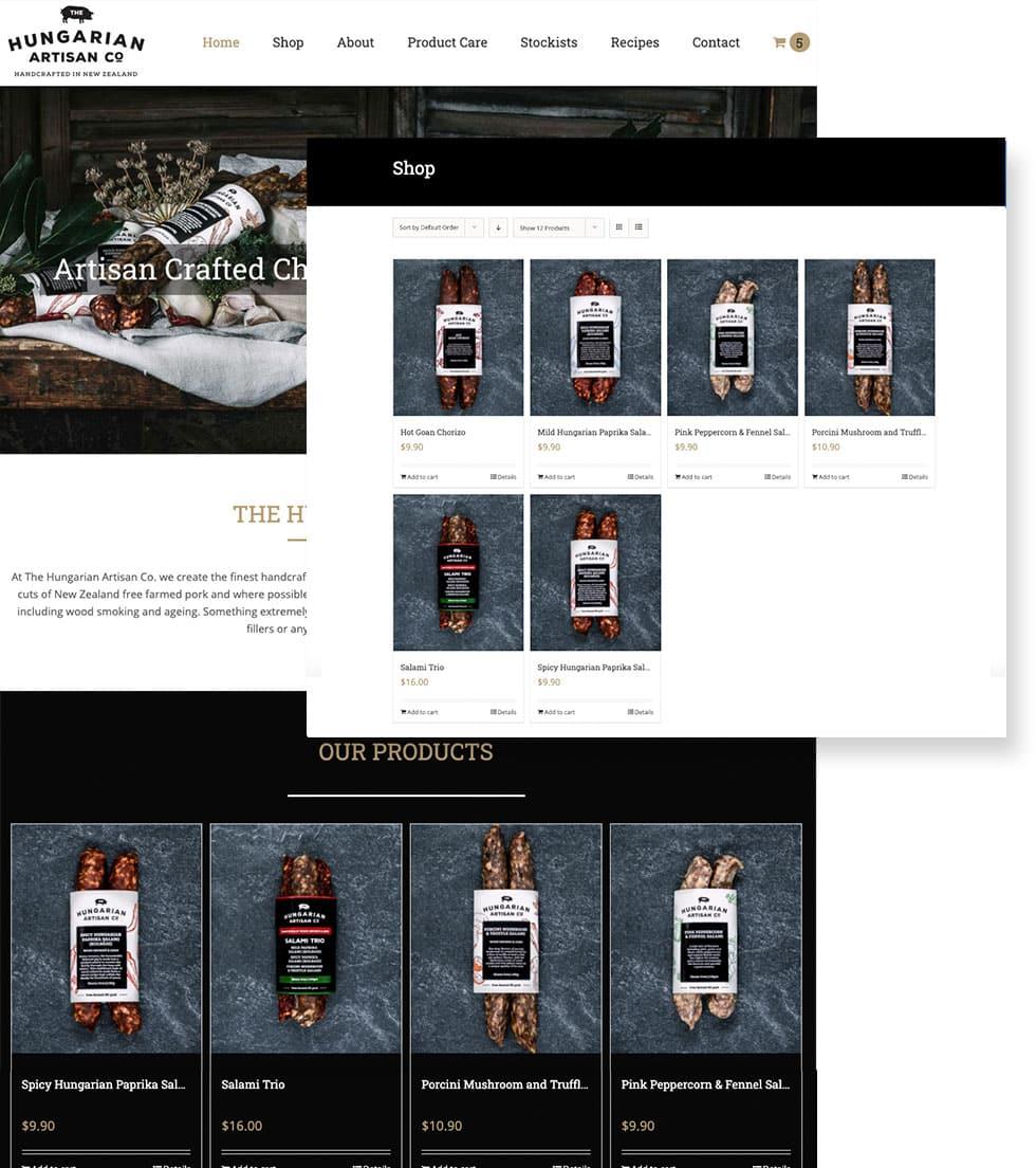 Hungarian Artisan Co Website