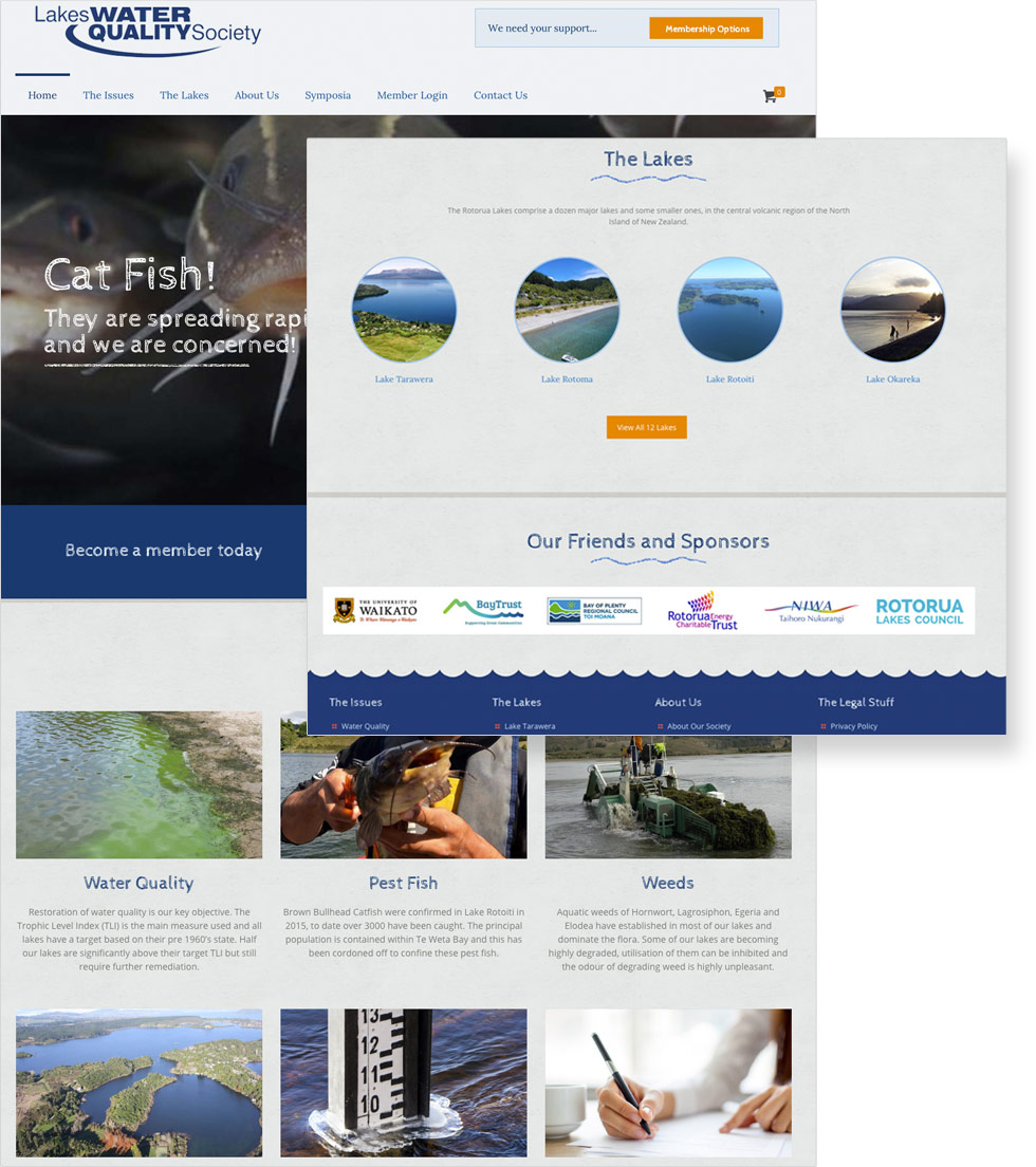 Lakes Water Quality Society Website